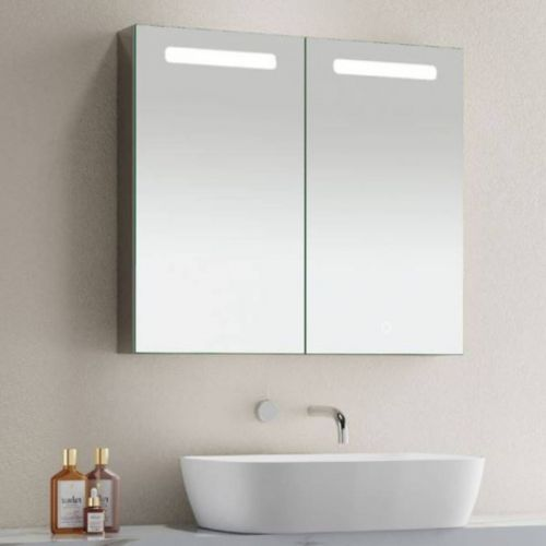 Clear Look Blenheim 700 x 800mm Bluetooth LED Mirrored Cabinet (20683)