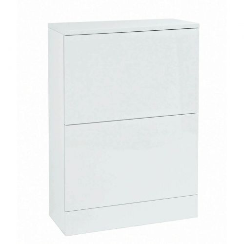 Phoenix Malmo Back to Wall Unit - White Gloss (9435)