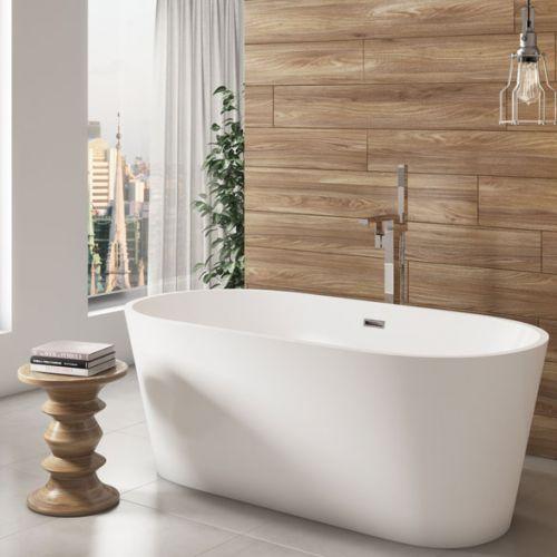 Viktor Benson Cancun 1600mm Freestanding Double Ended Bath  (14109)