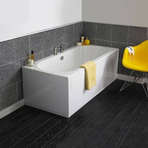 Moods Bathrooms to Love Cascade 1600 x 750mm Luxury Double Ended Bath  (14670)