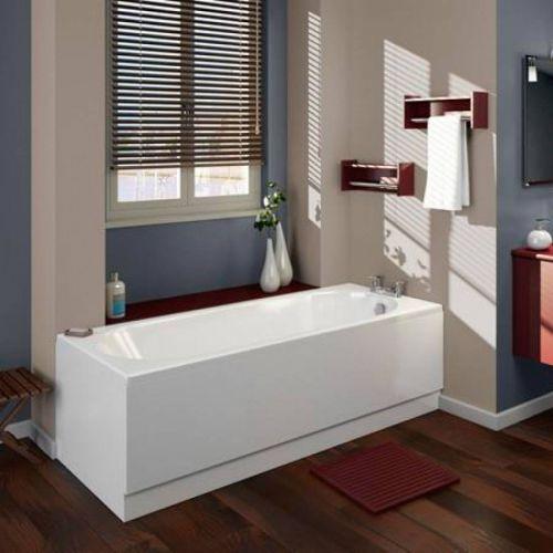 Moods Bathrooms to Love Cascade 1700 x 800mm Single Ended Bath  (14634)