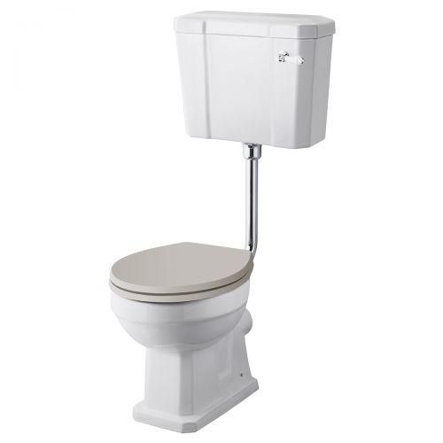 Richmond Low Level WC Pan, Cistern & Flush Kit (19524)