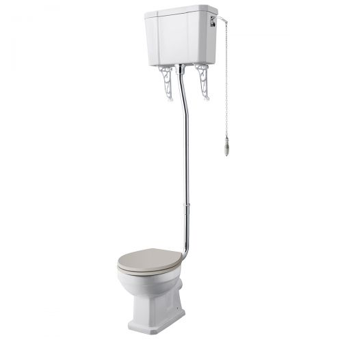 Richmond High Level WC Pan, Cistern & Flush Kit (19525)