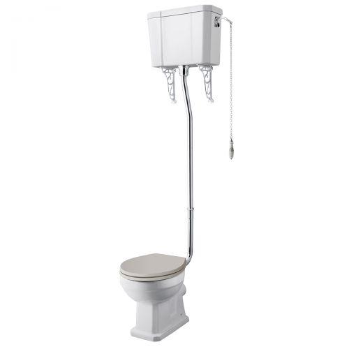 Richmond High Level Comfort Height WC Pan, Cistern & Flush Kit (19529)