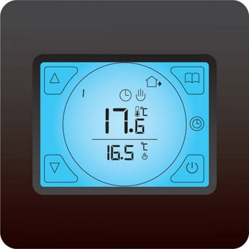 Cosytoes Touchscreen Stat for Electrical Underfloor Heating - Black - 10674