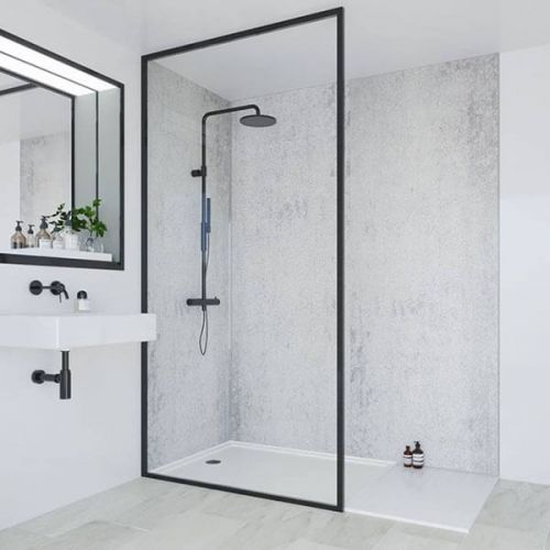 Multipanel Classic Collection Arctic Stone 598mm Premier Shower Panel (10966)