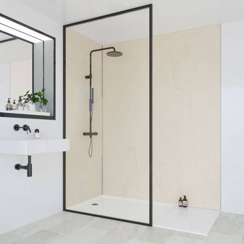 Multipanel Classic Collection Marfil Cream 598mm Premier Shower Panel (9603)