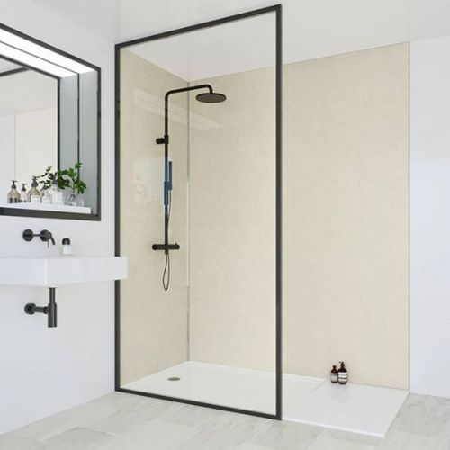 Multipanel Classic Collection Riven Marble 598mm Shower Panel (9596)