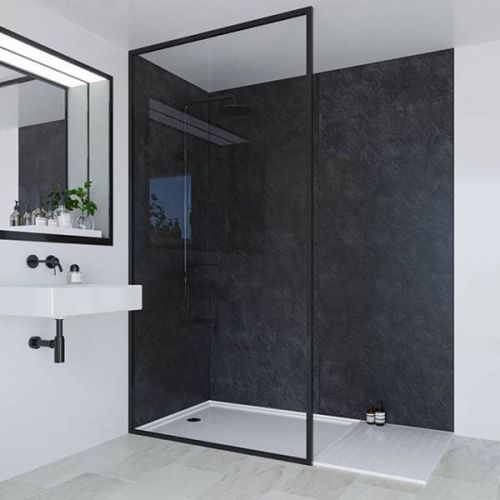 Multipanel Classic Collection Riven Slate 598mm Shower Panel (9599)