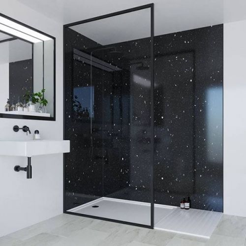 Multipanel Classic Collection Stardust 598mm Premier Shower Panel (13507)