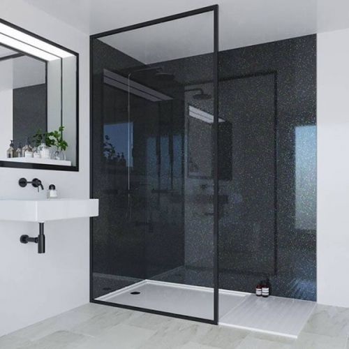Multipanel Classic Collection Twilight 598mm Premier Shower Panel (9521)