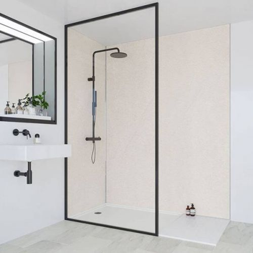 Multipanel Classic Collection Warm Mica 598mm Premier Shower Panel (9524)