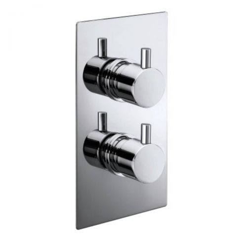 Twin Round Handle Concealed Valve (9235)