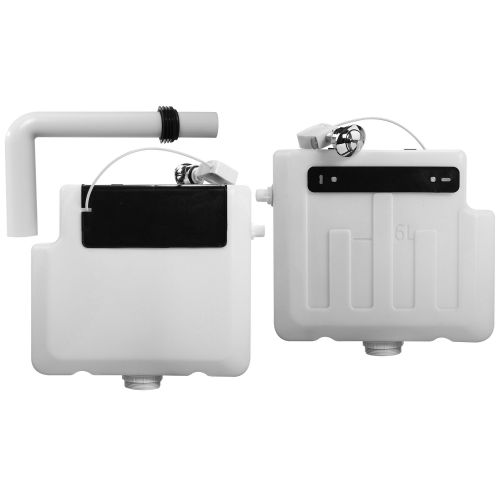 Eliseo Ricci Dual Flush Concealed Cistern With Push Button Flush (9211)