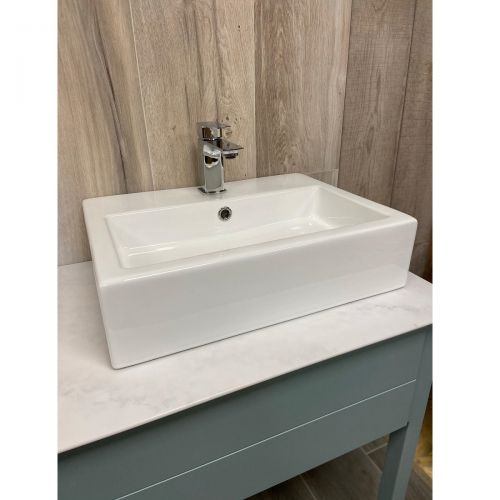 Objekt Ceramica Constance 510mm Counter Top Basin with Tap Hole (19871)