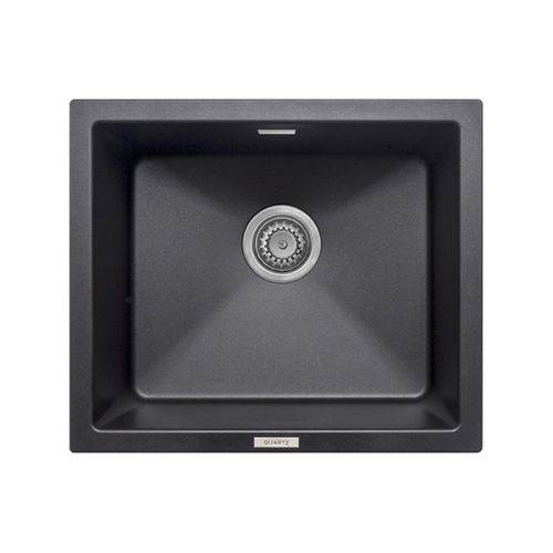 Prima+ Granite 1.0 Bowl Undermount Sink - Matt Black Finish (13226)