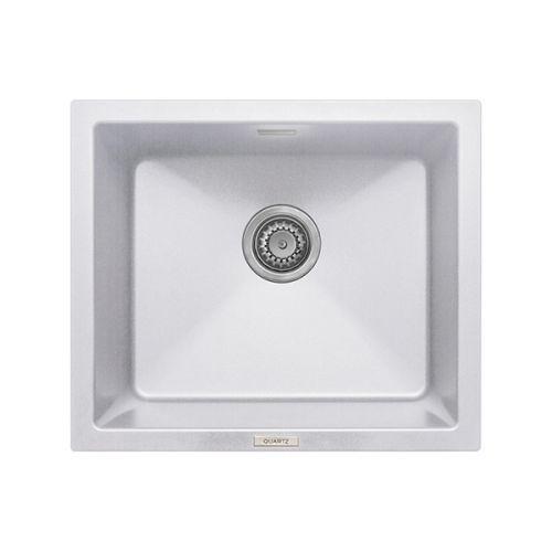 Prima+ Granite 1.0 Bowl Undermount Sink - Matt White Finish (13227)