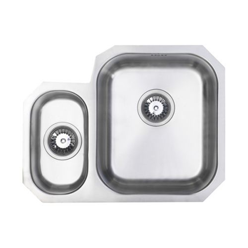 Prima Undermount 1.5 Bowl Sink Right Hand - Stainless Steel Finish (13218)