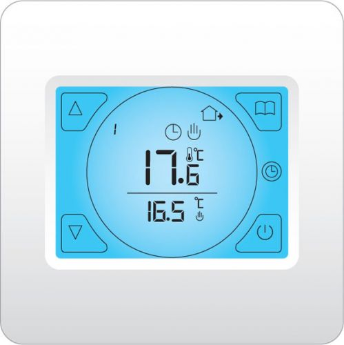 Cosytoes Touchscreen Stat for Electrical Underfloor Heating - White - 10675