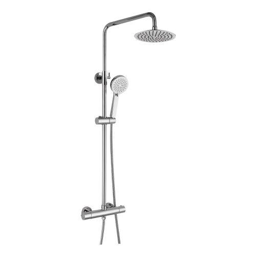 Eliseo Ricci Curve Plus Thermostatic Rain Shower with Diverter (13192)