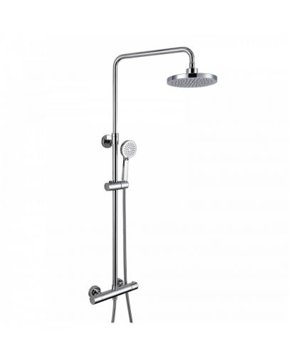 Eliseo Ricci Curve Thermostatic Rain Shower with Diverter (10845)