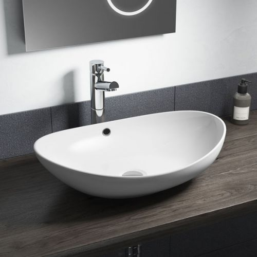 Oval 600 x 370mm Counter Top Bowl (11075)