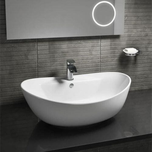 Oval Counter Top 600mm x 390mm Basin - 7591