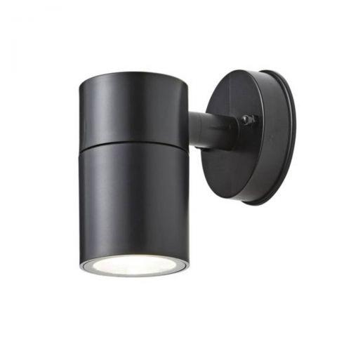 Forum Coast CZ-25143-BLK Neso Single LED Wall Light - Black (18325)