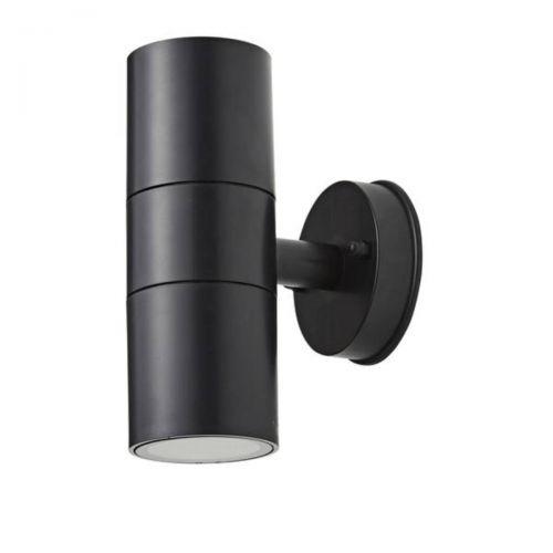 Forum Coast CZ-25144-BLK Neso Twin LED Wall Light - Black (18326)