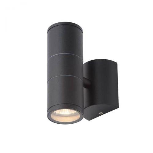 Forum Coast CZ-29320-BLK Islay Up/Down LED Wall Light - Black (20616)