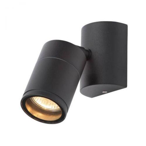 Forum Coast CZ-29321-BLK Islay Single LED Wall Light - Black (20614)
