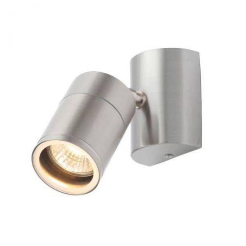 Forum Coast CZ-29321-SST Islay Single LED Wall Light - Stainless Steel (20613)