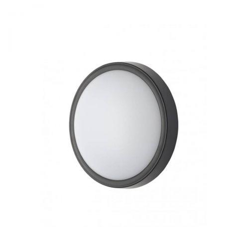 Forum Coast CZ-31750-BLK Oxford Round LED Flush Light - Black (18349)
