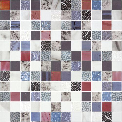 Gladys Square 31.1 x 31.1cm Mosaic Sheet (20471)
