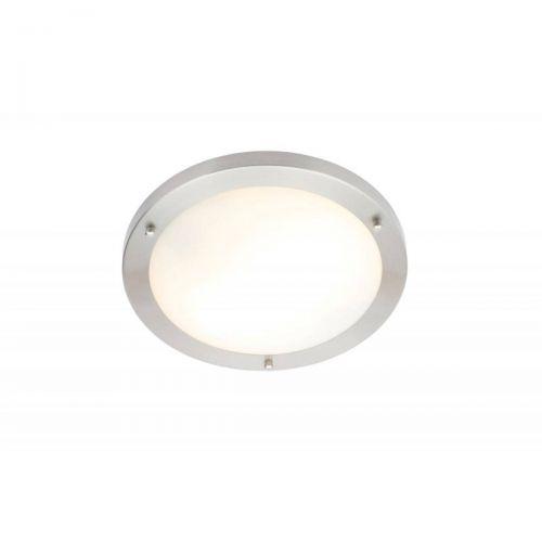 Forum Spa SPA-34049-SNIC Delphi Small Flush Ceiling Light - Satin Nickel