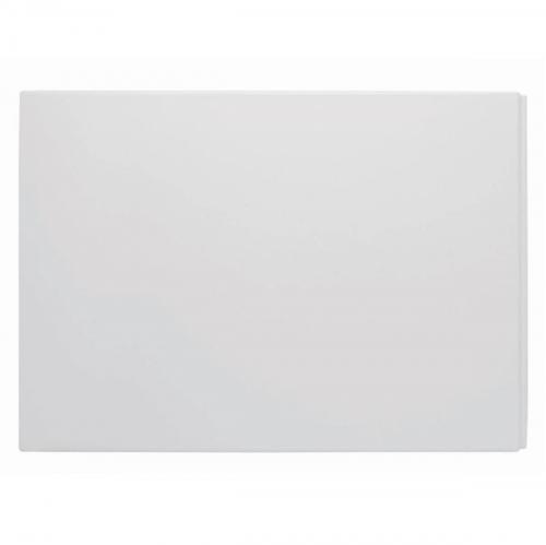 Plain Acrylic Gloss White End Panel for 700mm / 750mm Baths  (11087)
