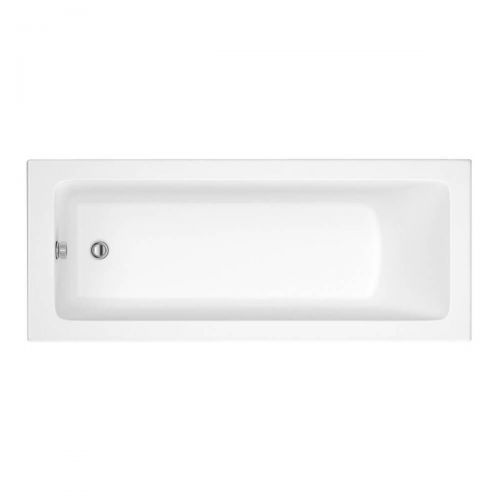 Moods Bathrooms to Love Solarna 1600 x 700mm Single Ended Bath  (7576)