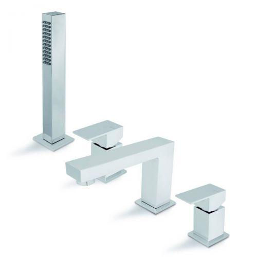 Moods Bathrooms to Love Vema Tamesis 4 Hole Bath Shower Mixer (20099)