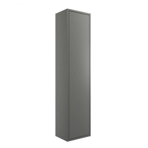 Moods Bathrooms To Love Perla 300mm 1 Door Wall Mounted Tall Unit - Matt Grey (20402)