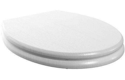 Moods Bathrooms to Love Lucia Soft Close Toilet Seat - Satin White Ash (13725)