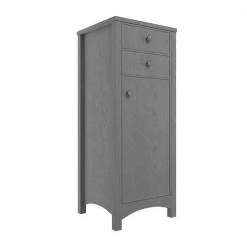 Moods Bathrooms to Love Lucia Tall Storage Unit - Grey Ash (19579)