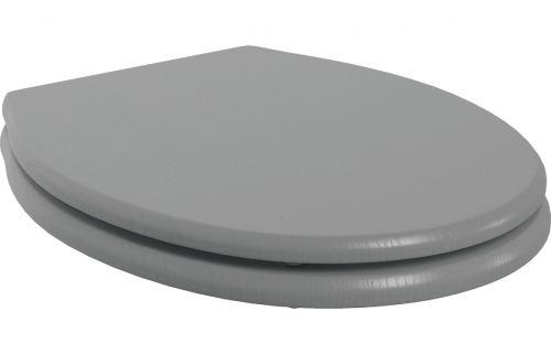 Moods Bathrooms to Love Lucia Soft Close Toilet Seat - Grey Ash (19586)