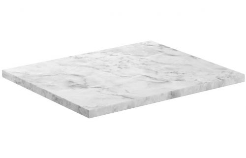 Moods Bathrooms to Love Manhattan 620mm Laminate Worktop - Carrara Marble (19594)
