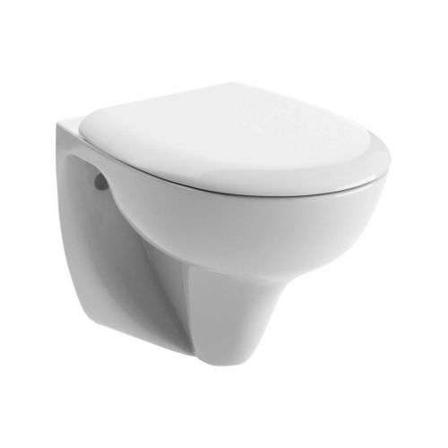 Moods Bathrooms to Love Tuscany Wall Hung Toilet with Soft Close Seat