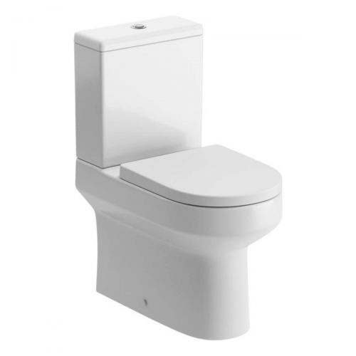 Moods Bathrooms to Love Laurus 2 Comfort Height Close Coupled Toilet & Soft Close Seat (20047)