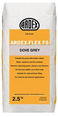 Ardex Flex FS Tile Grout 2.5KG - Dove Grey - 12787