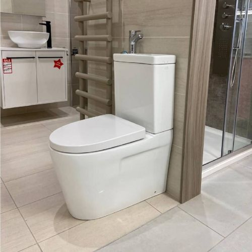 Duo 2 in 1 Toilet, Basin and Tap Combo