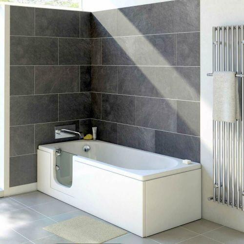Bathe Easy Cascade 1500mm Easy Access Straight Bath & Panels  - Left Hand (14960)
