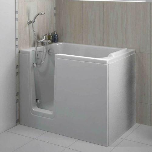 Bathe Easy Comfort Easy Access Deep Bath & Panels  - Left Hand (14962)
