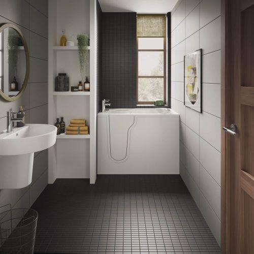 Bathe Easy Freedom Easy Access Deep Bath & Panels  - Left Hand (14964)